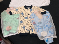 Used New 5 pieces Baby boy Set & 1 romper  in Dubai, UAE