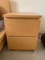Used 2 side tables with drawers in Dubai, UAE