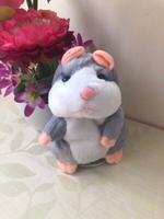 Used NEW Talking Hamster Plush Toy Recorder in Dubai, UAE