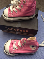Used Brand new Converse shoes for 9-12 months in Dubai, UAE