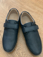 Used School shoes for boys, size 36, new  in Dubai, UAE