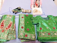 Used Full set bride's henna night stuff  in Dubai, UAE