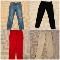 Used Ripped jeans and chinos from GAP, F&F,.. in Dubai, UAE