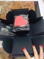 Used DIY Black Explosion box Scrapbook ❤️ in Dubai, UAE
