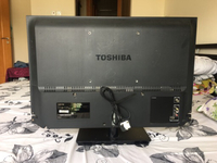 "Used Toshiba led tv 32"" new condition  in Dubai, UAE"