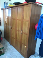 Used 6 Door Cupboard and 2 seater sofa in Dubai, UAE