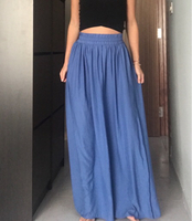 Used Blue long skirt in Dubai, UAE