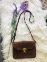 Used Fashion Leather Brown Crossbody Small in Dubai, UAE