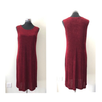 Creekside Cold Water Red Dress