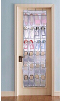 Used Hanging shoe 👞 organizer /24 pockets  in Dubai, UAE