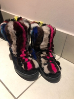 Used Fur boots  in Dubai, UAE