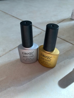 Used Top and base coat gel polish ( clear )  in Dubai, UAE