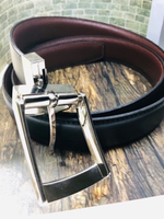 Used Leather Belt ( 2 in 1. Black and Brown) in Dubai, UAE