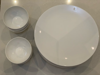 Used New 6 Pcs Dinner Plates & 6 Pcs Bowls in Dubai, UAE
