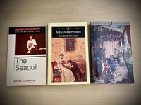 Used 3 Russian Classical Novels Translated in Dubai, UAE