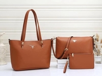 Used prada ladies bag 3in1 in Dubai, UAE