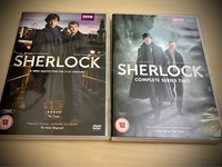 Used Sherlock Seasons 1 & 2 DVDs in Dubai, UAE