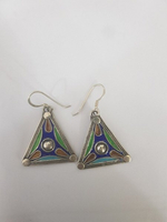 Used Real Silver earrings vintage jewellery in Dubai, UAE