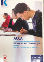 Used ACCA Kaplan Books in Dubai, UAE