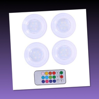 Used 8 pcs COlor Changing Lights with Remote/ in Dubai, UAE