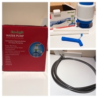 Used Manual Water pump & shower hose new in Dubai, UAE