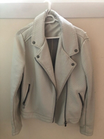 Used SALSA Leather Jacket with Knitted Lining in Dubai, UAE