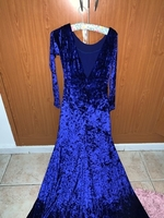 Used Navy blue elegant dress in Dubai, UAE
