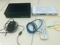 Used ETISALAT routers with remote and wires in Dubai, UAE
