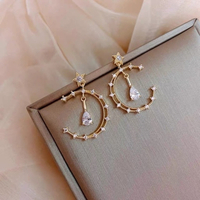Used 925 silver and gold moon necklace in Dubai, UAE