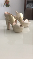 Used Golden heels in Dubai, UAE