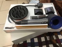 Used Dyson supersonic hair dryer purple in Dubai, UAE