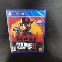 Brand new red dead redemption 2 for ps4