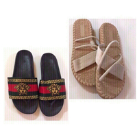 Used Flip flops size (40) new/ 2 pcs in Dubai, UAE