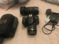 Used Canon 650d with two lenses.  in Dubai, UAE