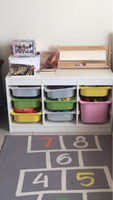 Used Kids toy storage and carpet  in Dubai, UAE