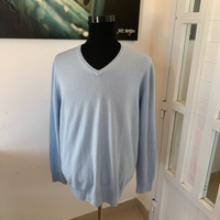 100% Cashmere sweater XXL New
