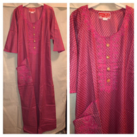 Used Long dress with scarf size M/L in Dubai, UAE