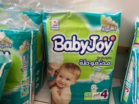 Used BabyJoy Diaper Number 4  in Dubai, UAE