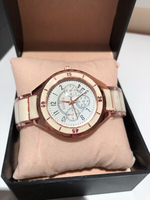 Used Men's rose gold/cream watch cheftr3844 in Dubai, UAE