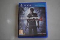 Used UNCHARTED 4  PS4 VIDEO GAME (VERY NEW) in Dubai, UAE