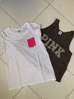 Used Two pink tops small in Dubai, UAE