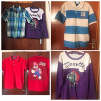 Used 4 shirts Special offer Boys clothes  in Dubai, UAE