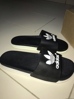 Used Adidas slipper 44 size  in Dubai, UAE