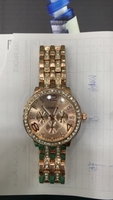 Used Geneva rose gold plated watch for women  in Dubai, UAE