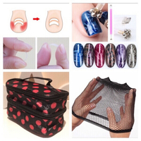 Used Cosmetic bag & nail pen/tools & hairnet  in Dubai, UAE