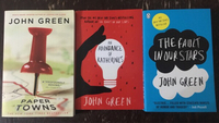 Used John Green Trio of Books  in Dubai, UAE