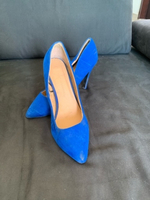 Used Blue court heels  in Dubai, UAE