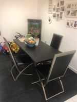 Used Dining Table set with 3 Chairs  in Dubai, UAE