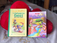 Used 2 stories.Folk tales &enchanted shoes📚 in Dubai, UAE
