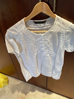 Used Linen shirt from Zara small  in Dubai, UAE